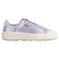4742eea884 PUMA Basket Platform - Women's - Purple / Gold