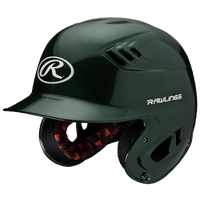 Rawlings Coolflo R16 Senior Batting Helmet - Men's - Dark Green / Dark Green