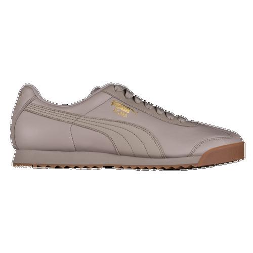 31e6883f4ad7 PUMA Roma Basic - Men s - Casual - Shoes - Rock Ridge Team Gold