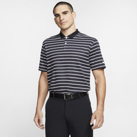 Nike Dry Victory Stripe Golf Polo - Men's - Black