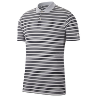 Nike Dry Victory Stripe Golf Polo - Men's - Grey