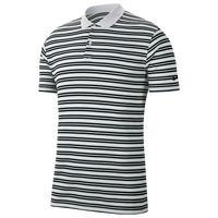Nike Dry Victory Stripe Golf Polo - Men's - White / White