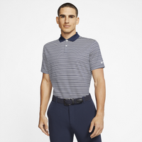 Nike Dry Victory Stripe Golf Polo - Men's - Navy