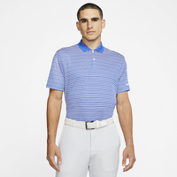 Nike Dry Victory Stripe Golf Polo - Men's - Blue
