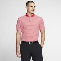 Nike Dry Victory Stripe Golf Polo - Men's - Red