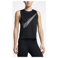 The Most Popular Nike Dri-Fit City Core Tank Black/Reflective Silver For Women Outlet