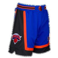 448a33516244b2 Mitchell   Ness NBA Authentic Shorts - Men s - New York Knicks - Blue    Black