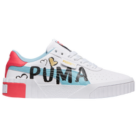 PUMA Cali - Girls' Grade School - Light Blue / Pink