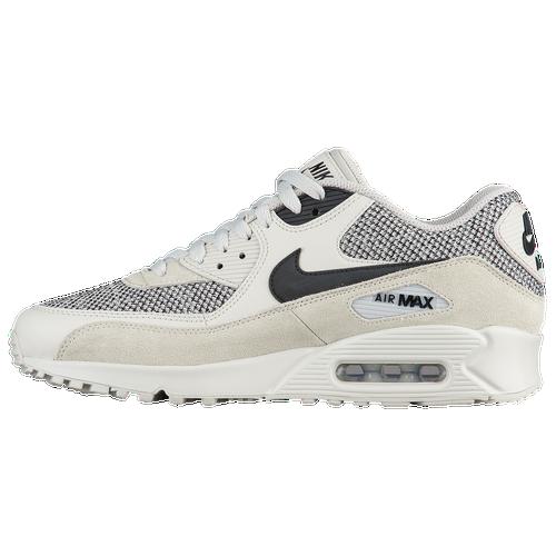 online retailer 4d357 9953c Nike Air Max 90 - Men s - Running - Shoes - Light Bone Black Black Pure  Platinum