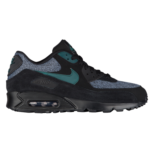 b1944c0c68 Nike Air Max 90 - Men's - Casual - Shoes - Black/Dark Atomic Teal ...