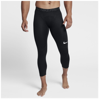 Nike Pro 3/4 Compression Tights - Men's - Black / Grey