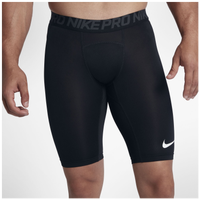 "Nike Pro Compression 6"" Shorts - Men's - Black / Grey"