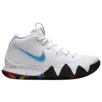 Nike Kyrie 4 - Men's - Kyrie Irving - White / Light Blue