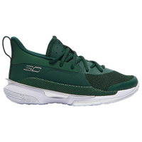 Under Armour Curry 7 - Boys' Grade School - Dark Green
