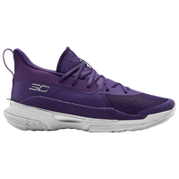 Under Armour Curry 7 - Boys' Grade School - Purple