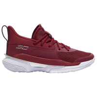 Under Armour Curry 7 - Boys' Grade School - Red
