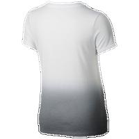 3cda93b67ff4 Nike NSW Dipdye T-Shirt - Girls' Grade School - White / Grey