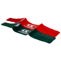 Cliff Keen Folkstyle Wrestling Ankle Bands - Red / Green