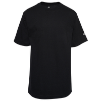 adidas S/S 3STP Logo Sleeve T-Shirt - Boys' Grade School - Black