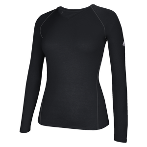adidas Team Climalite Long Sleeve T-Shirt - Women's - Black