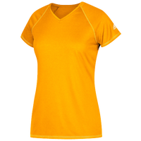 adidas Team Climalite T-Shirt - Women's - Gold / Gold