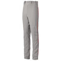 Mizuno Premier Pro Piped Pants - Men's - Grey / Red