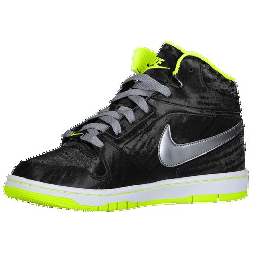 Nike Prestige IV High Women's Black/Volt/White/Metallic Cool Grey 38889031