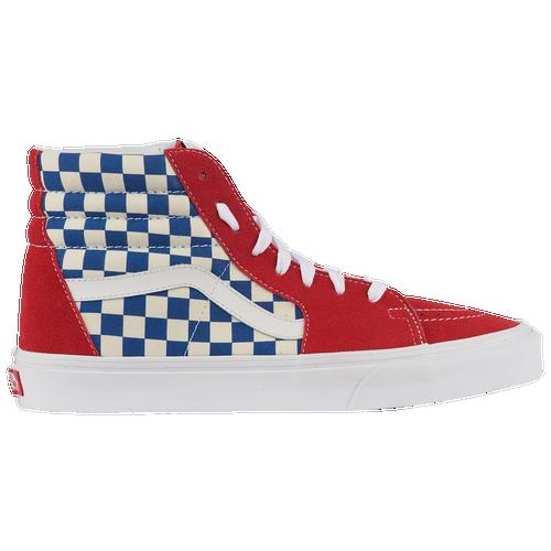fabdeb595d Vans Sk8-Hi - Men s - Casual - Shoes - True Blue Red