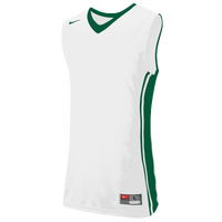 Nike Team National Varsity Jersey - Boys' Grade School - White / Dark Green