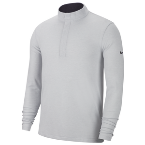 Nike Dry Victory Golf 1/2 Zip - Men's - Sky Grey/Gridiron/Black