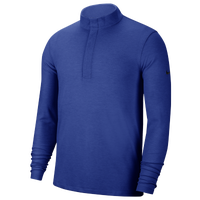 Nike Dry Victory Golf 1/2 Zip - Men's - Blue