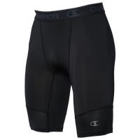 "Champion 9"" Compression Shorts - Men's - Black"