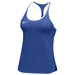 Nike Team Court Dry Tennis Tank - Women's - Royal/White