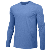 Nike Team Legend Long Sleeve Poly Top - Boys' Grade School - Blue