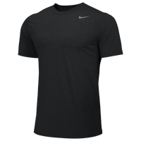 Nike Team Legend Short Sleeve Poly Top - Boys' Grade School - All Black / Black