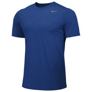 Nike Team Legend Short Sleeve Poly Top - Boys' Grade School - Game Royal/Cool Grey