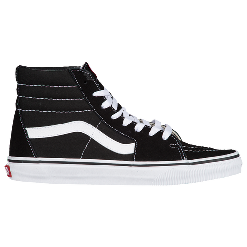 vans mens black and white