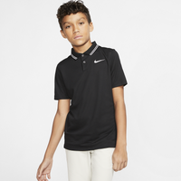 Nike Dry Victory Solid Golf Polo - Boys' Grade School - Black