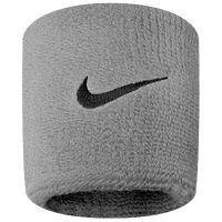 Nike Swoosh Wristbands - Grey / Black
