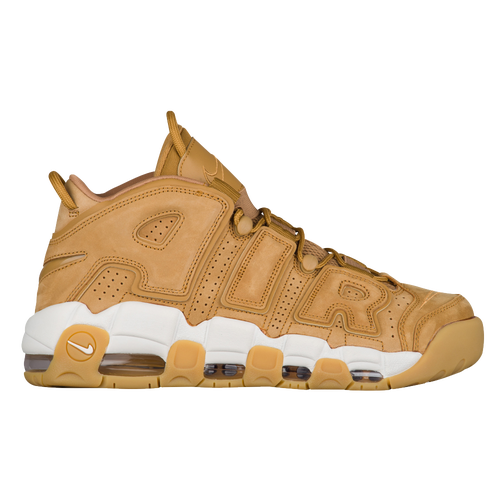 finest selection e468c 8459f Nike Air More Uptempo - Men s - Basketball - Shoes - Flax Flax Gum Light  Brown