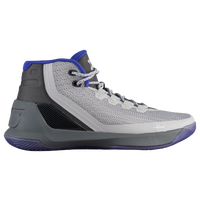 7de74d09e51 Under Armour Curry 3 - Boys  Grade School - Stephen Curry - Grey   Blue