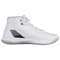 Under Armour Curry 3 - Girls' Grade School - Stephen Curry - White / Black