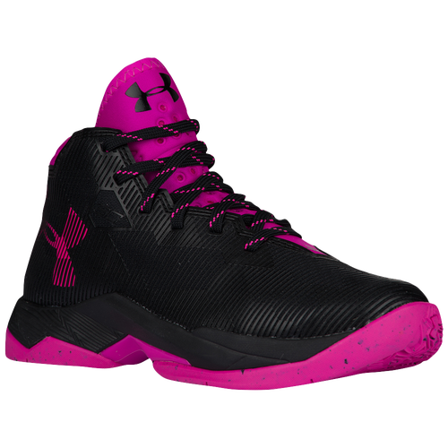Under Armour Curry 2.5 - Girls\u0027 Grade School - Stephen Curry - Black / Pink