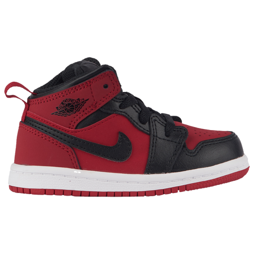 Jordan AJ 1 Mid Boys/' Toddler Black//Dark Grey//Black 40735050