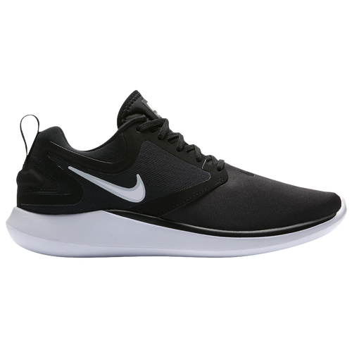 Nike LunarSolo - Women's Running Shoes - Black/White/Anthracite/Pure Platinum 4080001