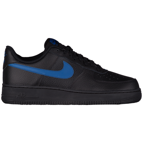 nike air force black and blue