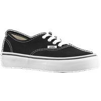 8aec697f094583 Vans Authentic - Boys  Preschool - Black   White