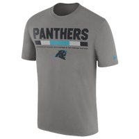 Nike NFL Team Staff T-Shirt - Men s - Carolina Panthers - Grey   Light 7b4ed5d66