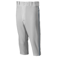 Mizuno Premier Short Piped Pants - Men's - Grey / Navy