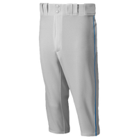 Mizuno Premier Short Piped Pants - Men's - Grey / Blue